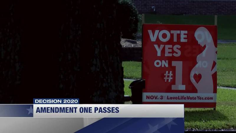 Seventy percent of voters in Calcasieu Parish voted in favor of Amendment 1 while sixty-two...