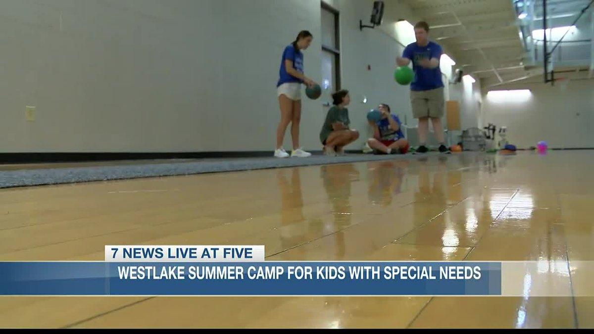 Westlake hosts summer camp for children with special needs.