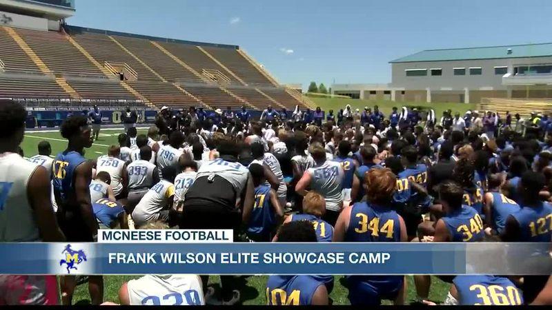 Frank Wilson hosts successful Elite Showcase football camp