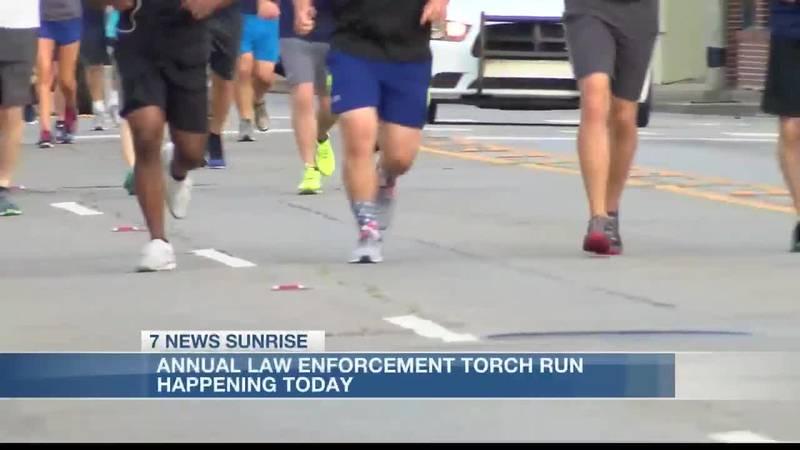 Calcasieu Parish Sheriff's Office holds annual torch run