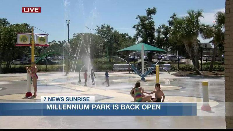 Millennium Park is back open