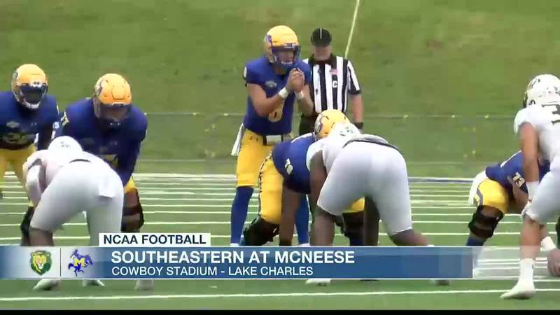 McNeese falls to Southeastern 38-35