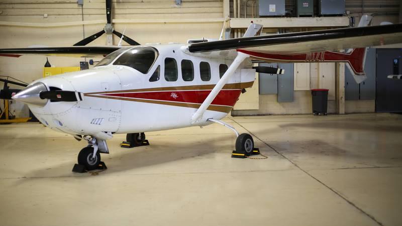 Cessna 337 purchased for the SOWELA Aviation Maintenance Program. The program has added four...