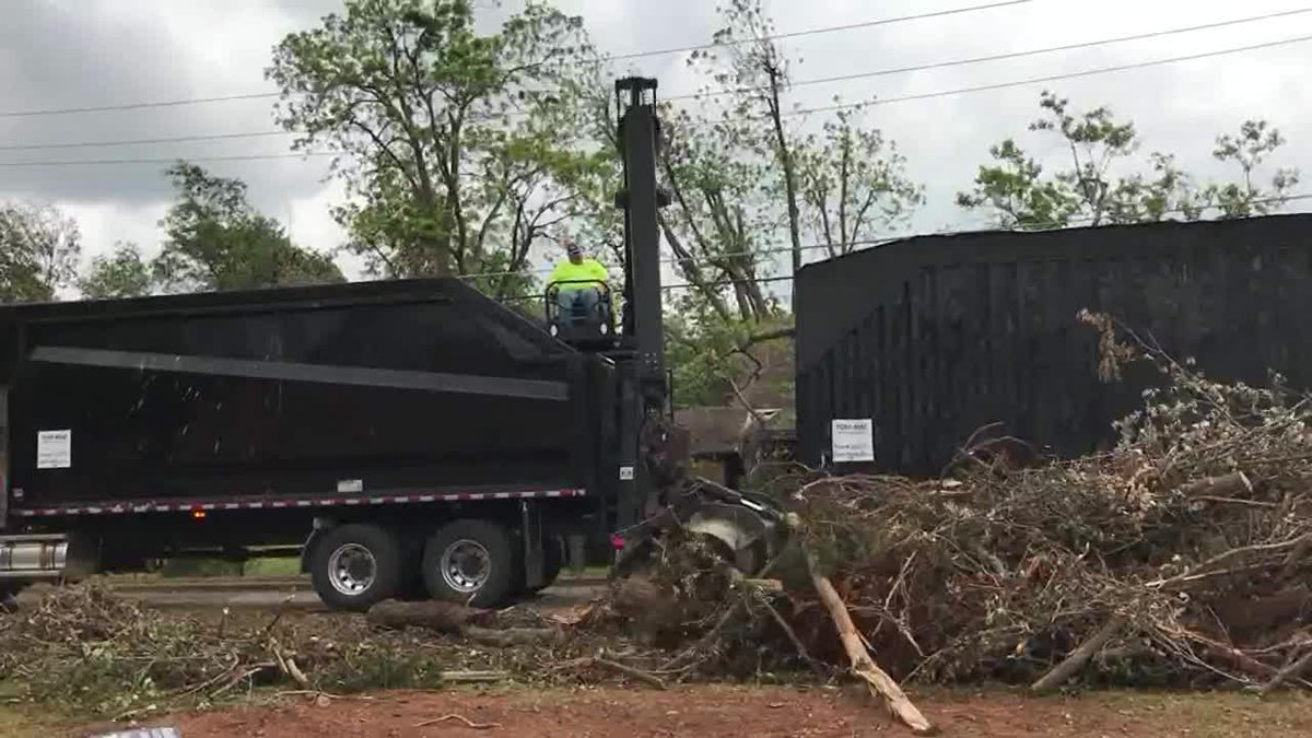 To expedite the process, the city officials say residents are asked to sort debris when placing...