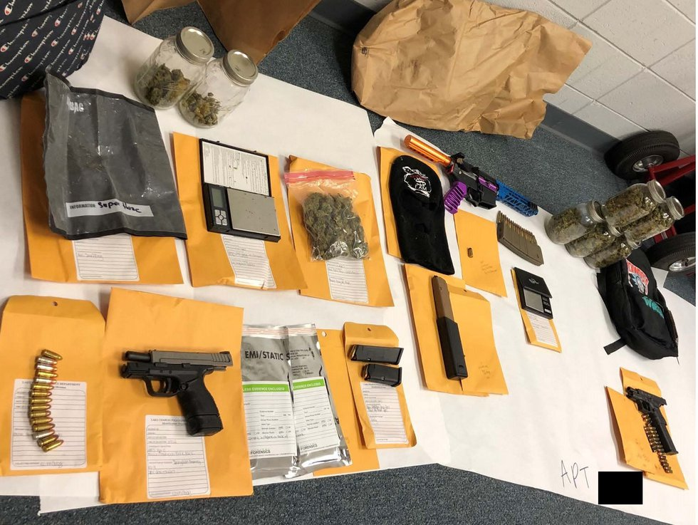 Fondel said as a result of the execution of the search warrants, officers recovered multiple...