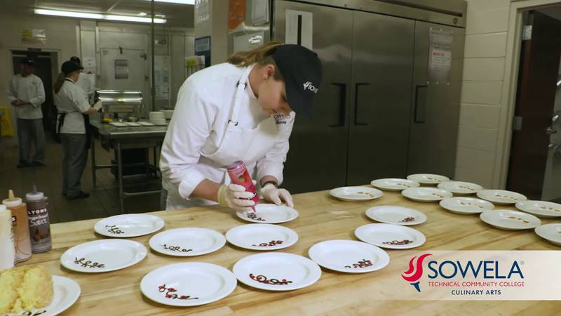 Chef Roy Angelle with SOWELA Community College says it's key to have a concept of time when...