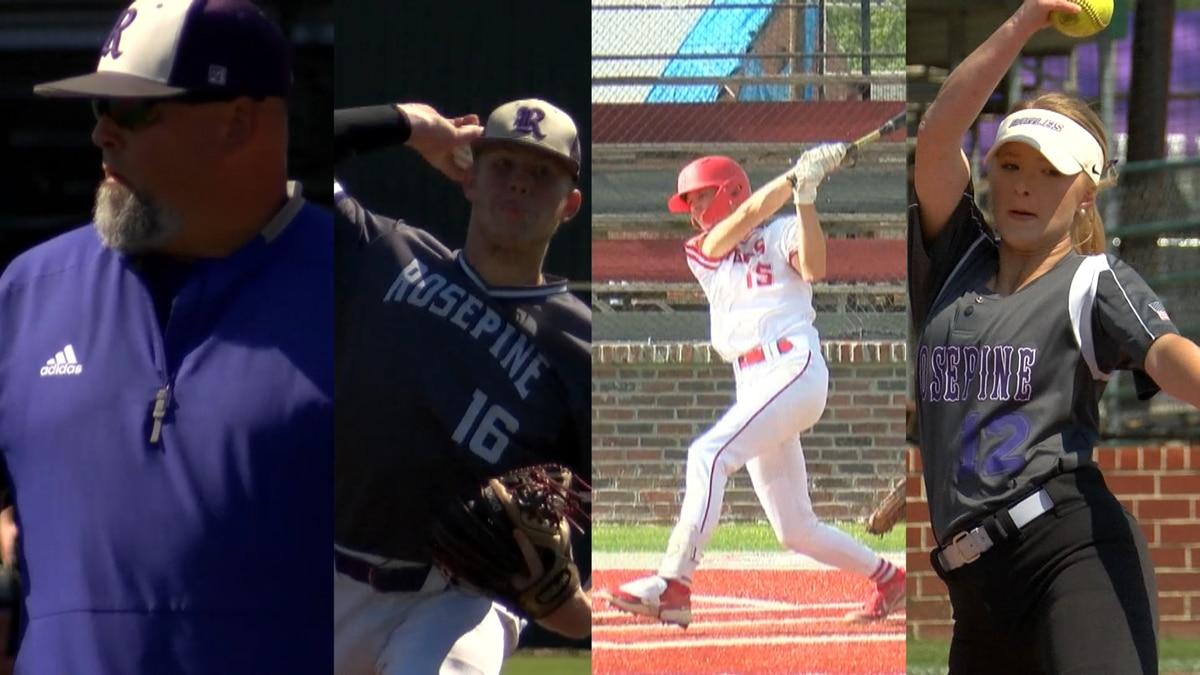 Louisiana Sports Writers Association's Class 2A All-State softball and baseball teams