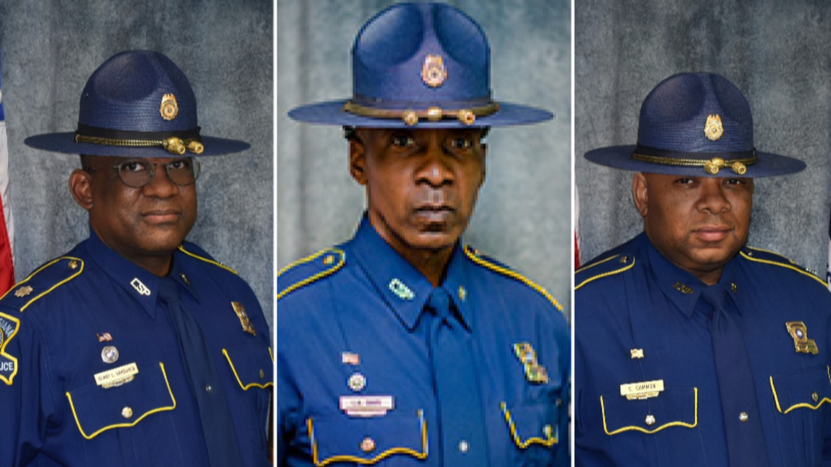 Louisiana State Police makes history with 3 African-American employees in leadership positions