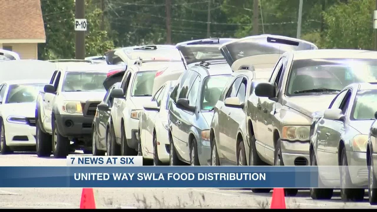 United Way of SWLA's food distribution feeds hundreds