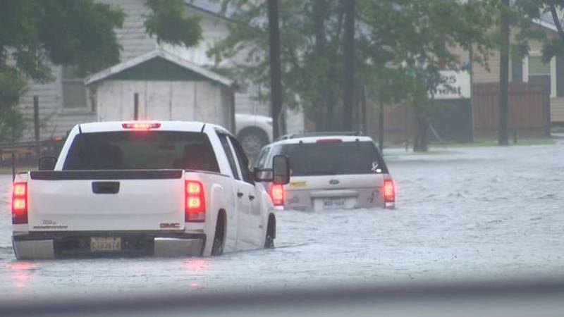Though many drivers know which roads to avoid, it didn't seem to matter during this flood.