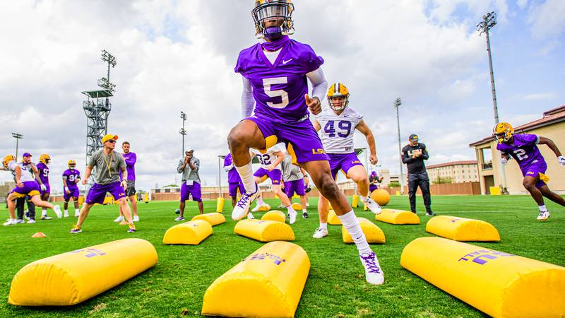 Jay Ward is primed to start at safety for LSU.