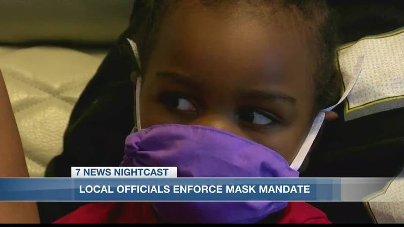 Local officials explain how they will enforce mask mandate