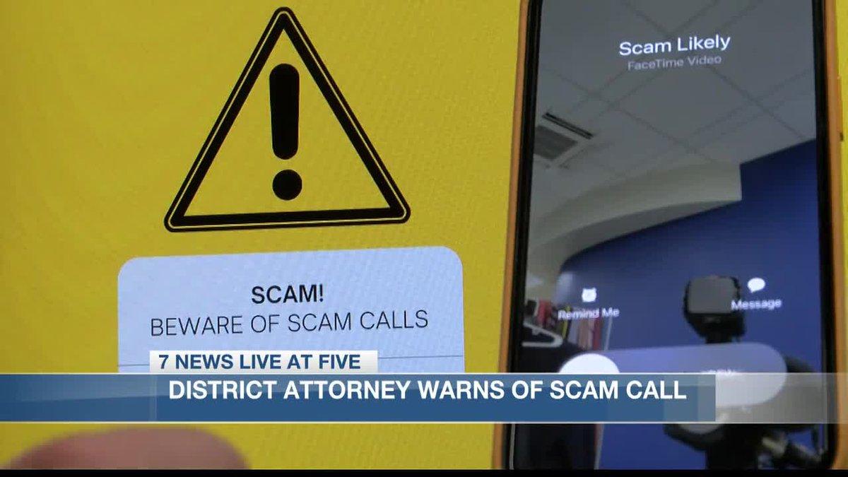 Calcasieu Parish District Attorney warns of scam calls.