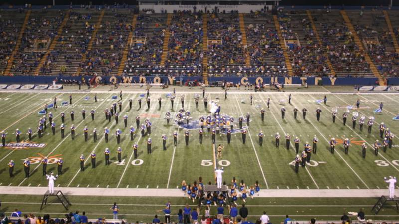 The Pride Of McNeese Cowboy Marching Band