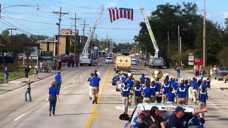 The parade returns to Sulphur in November.