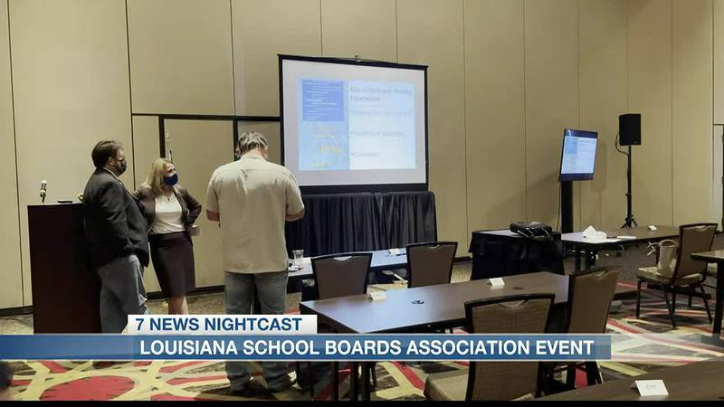 he Louisiana School Boards Associations held it's fall trailblazer event today in Lake Charles....
