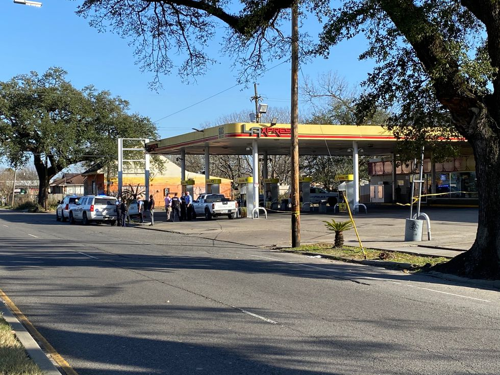 New Orleans Police are investigating a fatal stabbing outside of a gas station Sunday afternoon.