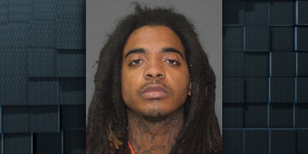 Savyon Hamilton was arrested during a traffic stop in Westlake, La., in which authorities say...