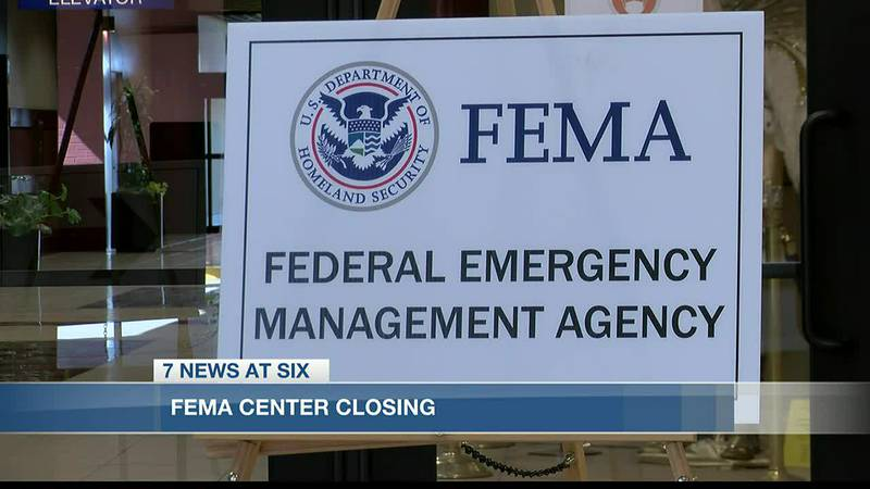 Many residents were taking advantage of their last chance to speak to a FEMA representative in...
