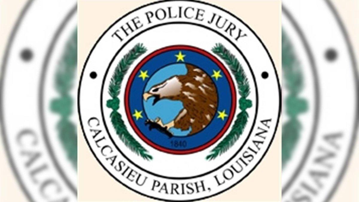 Calcasieu Parish Police Jury.