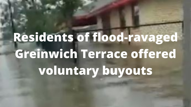 Residents of flood-ravaged Greinwich Terrace offered voluntary buyouts.