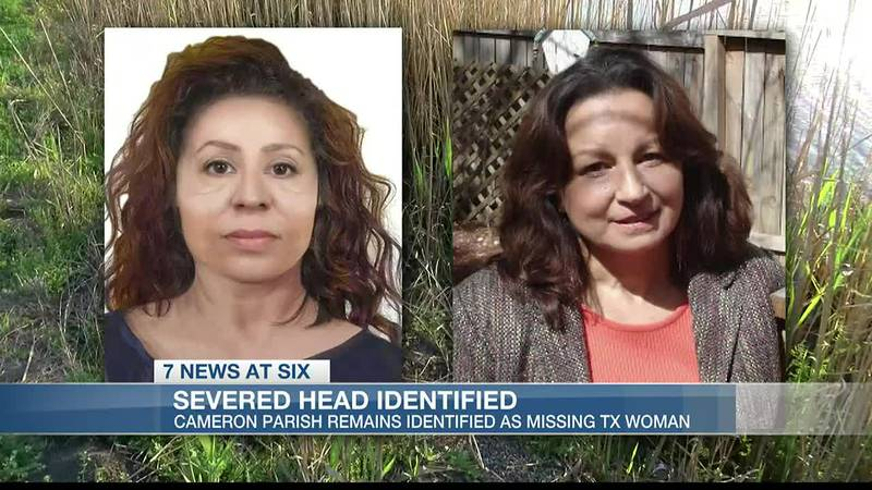 Severed head found in Cameron Parish identified as a missing San Antonio woman