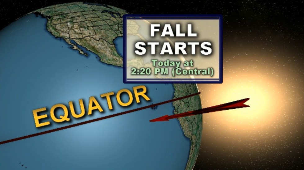 Fall arrives today!