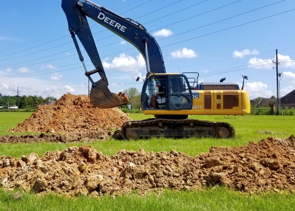 Ground has been broken for the Rouse's Market planned for South Lake Charles, the grocery store...