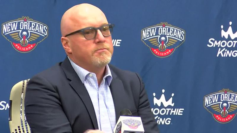 Pelicans GM David Griffin at 2019 Media Day