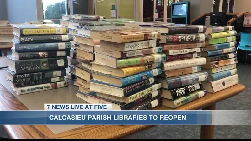 Ten of the thirteen branches will open to the public next Wednesday, Oct. 7.