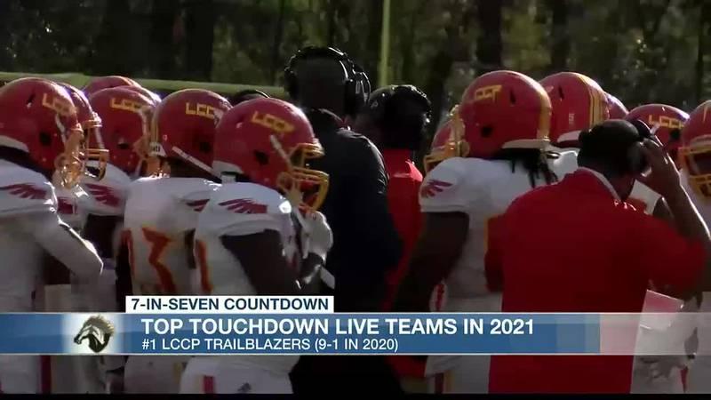7-In-Seven Countdown: Top Touchdown Live teams #1 LCCP TrailBlazers