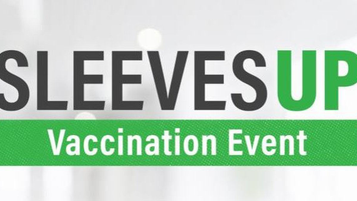 COVID-19 vaccinations will be available at the Lake Charles Civic Center through next Wednesday.