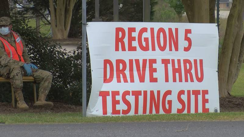 In terms of testing, Region 5 community testing sites are still seeing a variety of...