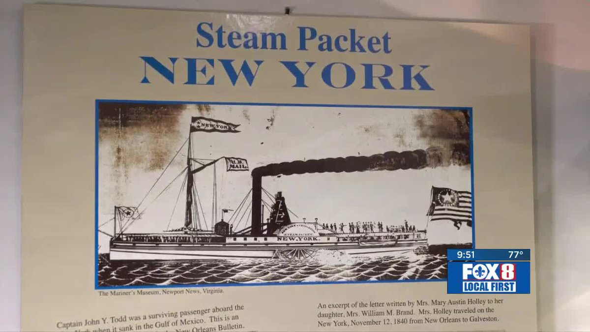 It?s early September 1896 and the steamship SS New York has just left Galveston for a trip to...