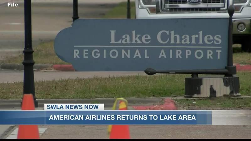 American Airlines returns to Lake Charles Regional Airport