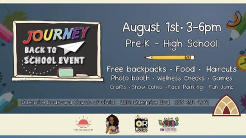 Enterprise Boulevard Church of Christ is hosting their event on Sunday complete with free...