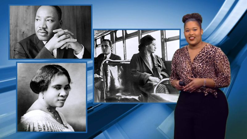 KPLC's Shelby Trahan recognizes some of the hidden figures of Black History Month.