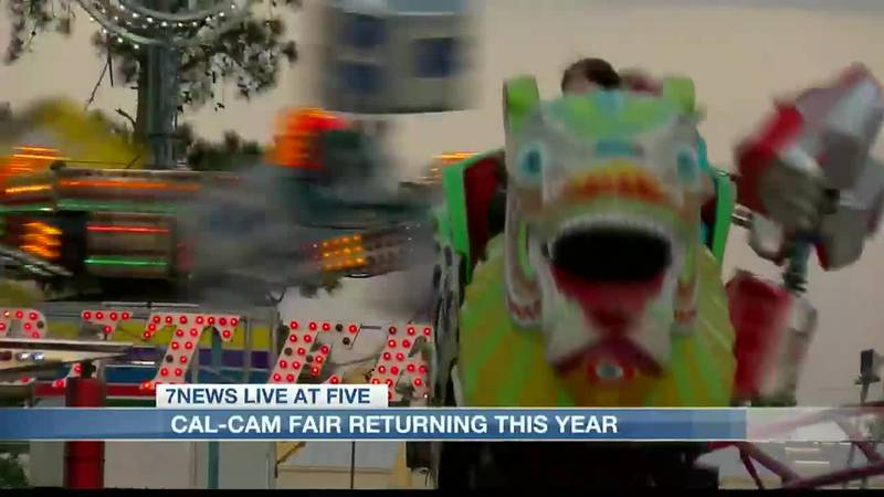 Cal-Cam Fair returning this October for three days.