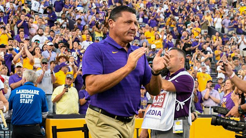 LSU has been favored in all three games this season.