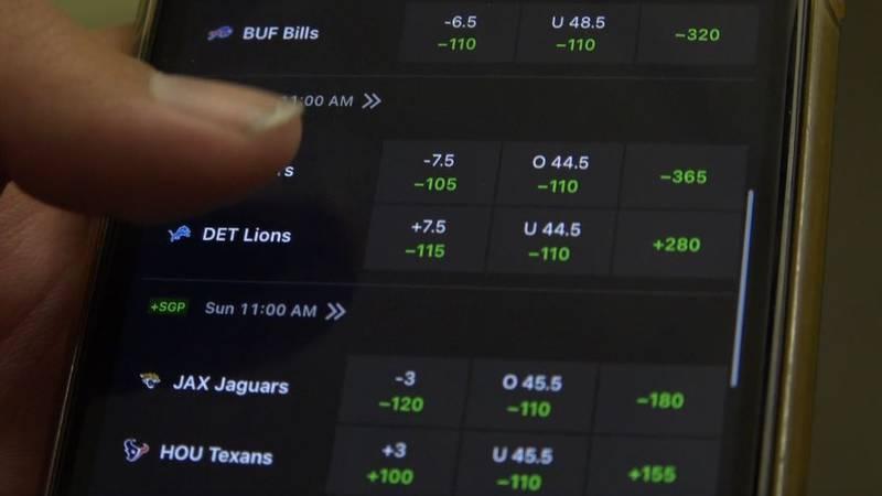 Sports betting delayed due to Hurricane Ida