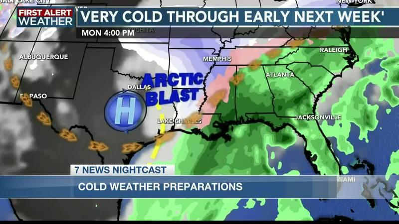 Cajun Navy volunteers assists SWLA with cold-weather supplies
