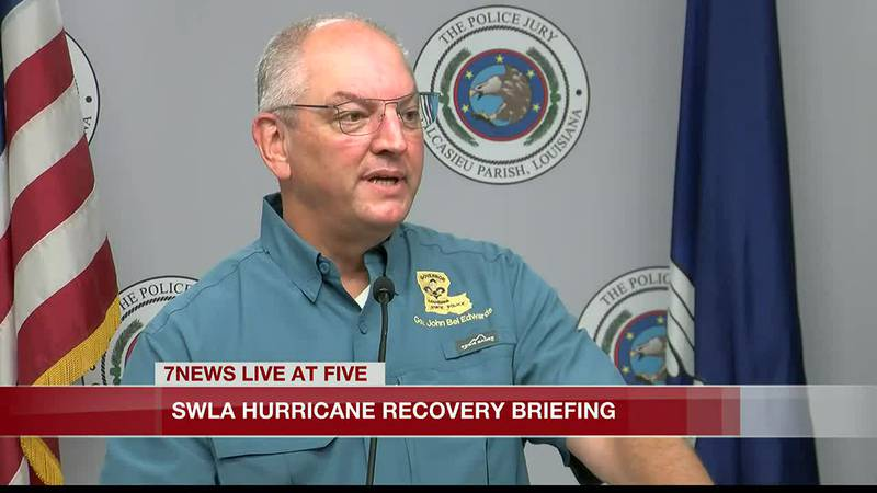 Edwards said we are not recovered by a long shot, in evaluation of where Southwest Louisiana...