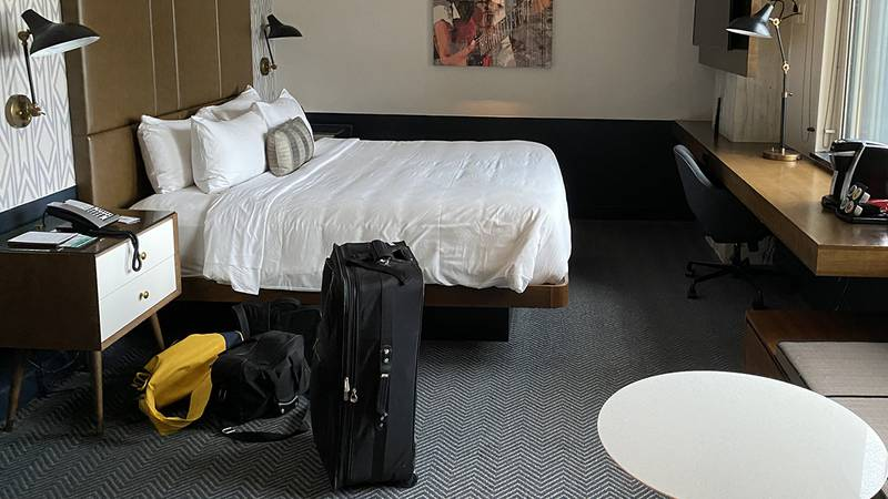 WAFB file photo of a hotel room