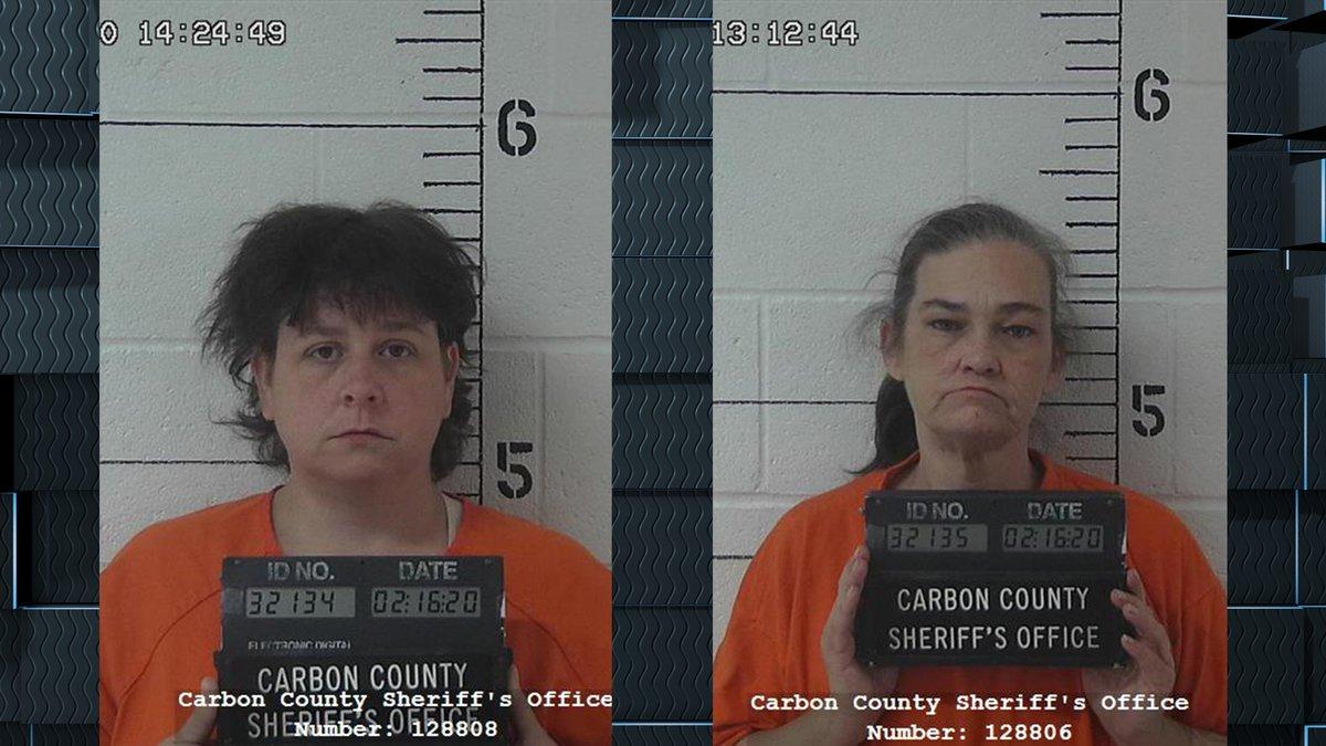 DeRidder women Christina Fant and Jennifer Stracener have been arrested in Wyoming after police...
