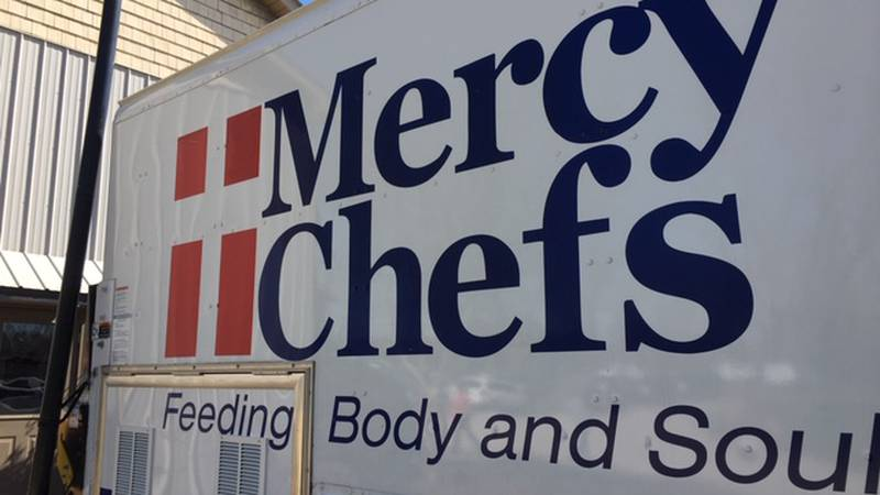 The story behind Mercy Chefs originated in New Orleans, LeBlanc was troubled by what he saw...