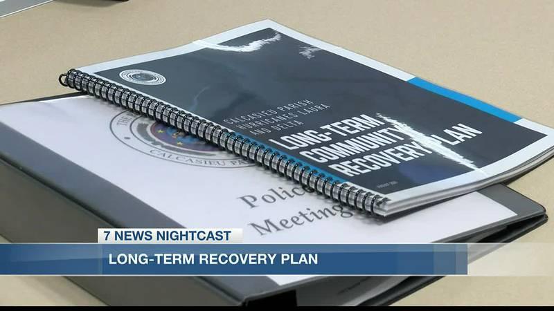 Calcasieu Police Jury adopts Long-Term Recovery Plan