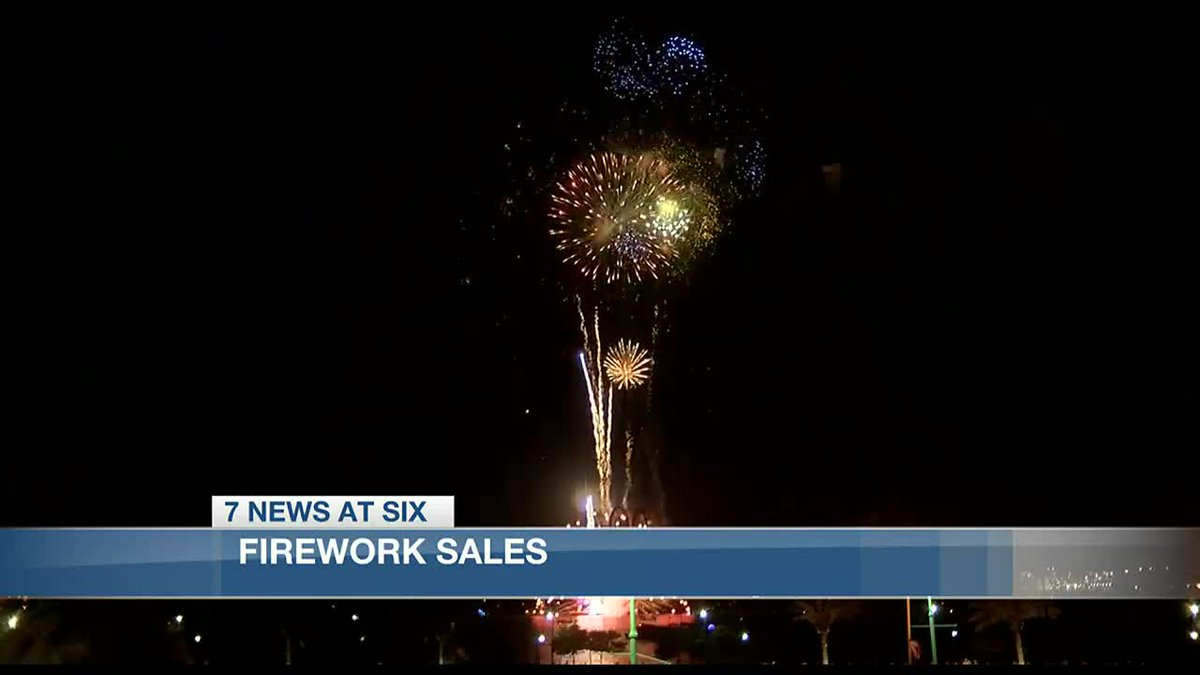 Firework sales following fourth of July