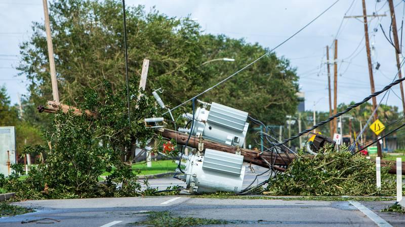 Hurricane Ida caused widespread damage to Louisiana's power grid on Aug. 29.