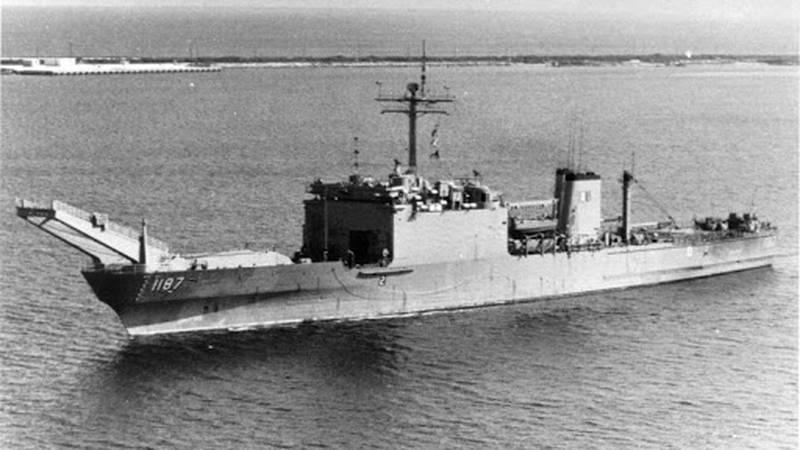 Ship that Woolridge served aboard during Vietnam War