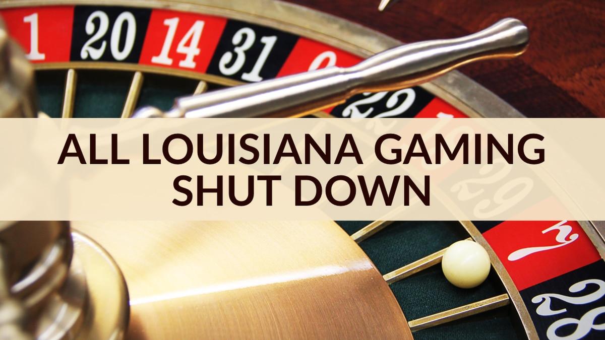 The gaming floors at Louisiana casinos will close at midnight due to coronavirus concerns,...
